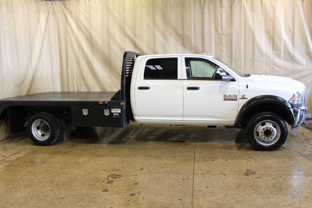 2018 Ram 5500 diesel flatbed 4x4 Tradesman in Roscoe, IL 61073