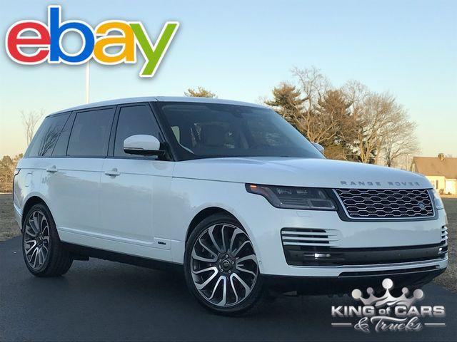 2018 Range Rover L Lwb 5.0l V8 11K MILES 1-OWNER 4X4 PRISTINE LOADED