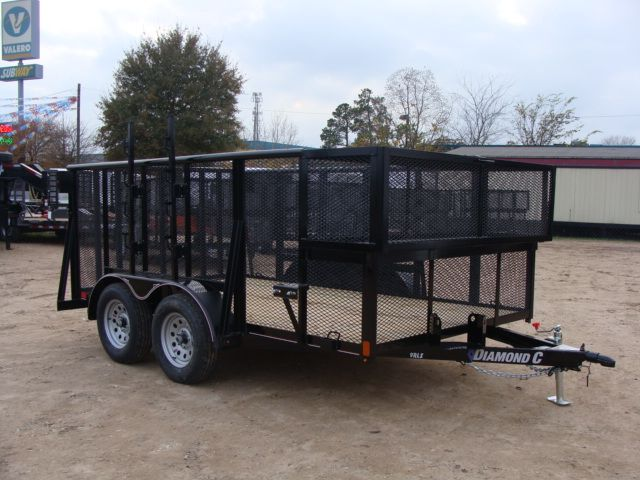 "2018 Diamond C 9RLS - 12' Landscaping 48"" Sides CONROE, TX 21"