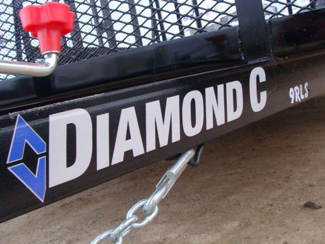 "2018 Diamond C 9RLS - 12' Landscaping 48"" Sides CONROE, TX 8"