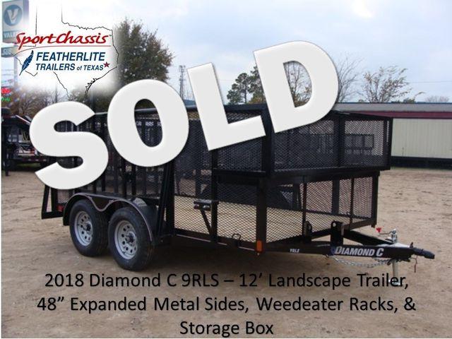 2018 Diamond C 9RLS - 12' Landscaping 48