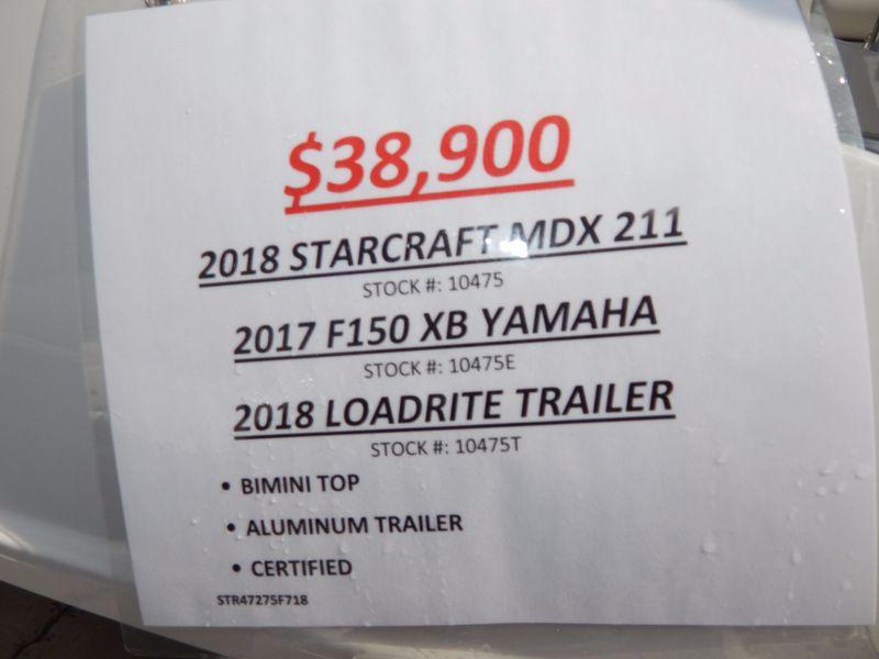 2018 Starcraft MDX 211 OB   in Charleston, SC