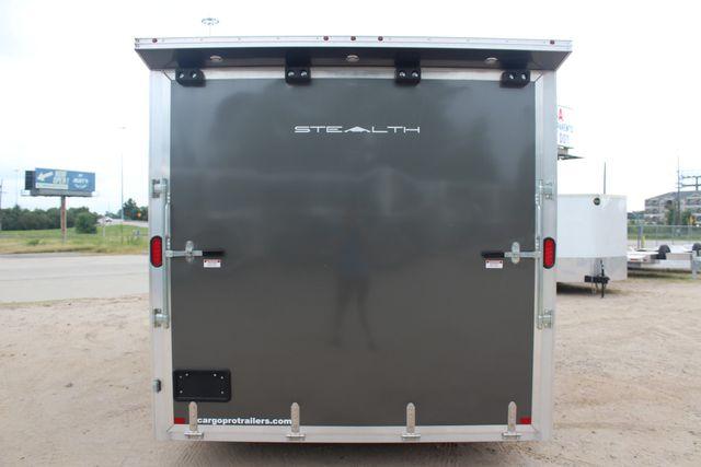 2018 Cargo Pro STEALTH Supreme Car Hauler 20 Enclosed Car Trailer with Premium Escape Door CONROE, TX 18