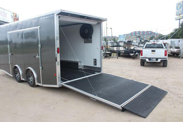 2018 Cargo Pro STEALTH Supreme Car Hauler 20 Enclosed Car Trailer with Premium Escape Door CONROE, TX 17