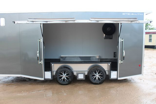 2018 Cargo Pro STEALTH Supreme Car Hauler 20 Enclosed Car Trailer with Premium Escape Door CONROE, TX 10