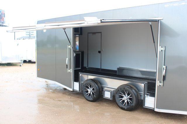 2018 Cargo Pro STEALTH Supreme Car Hauler 20 Enclosed Car Trailer with Premium Escape Door CONROE, TX 14