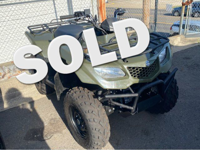 2018 Suzuki KINGQUAD  - John Gibson Auto Sales Hot Springs in Hot Springs Arkansas