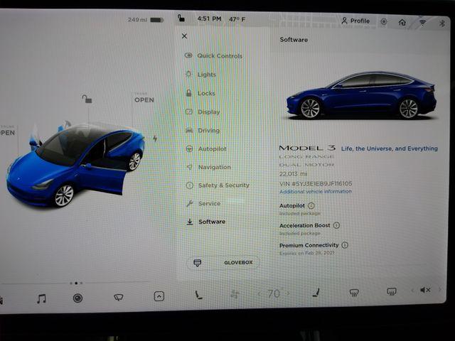 2018 Tesla Model 3 Performance Boost Long Range Battery - 310 Mile Range in North Little Rock, AR 72114
