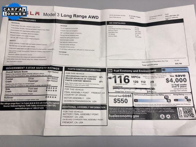 2018 Tesla Model 3 Long Range Madison, NC 45