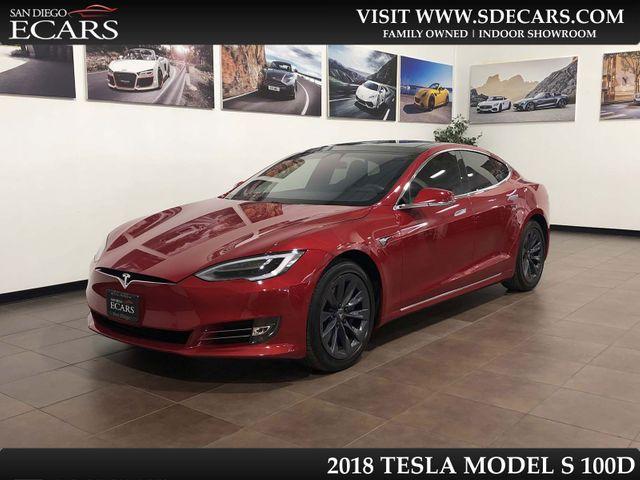 2018 Tesla Model S 100D in San Diego, CA 92126