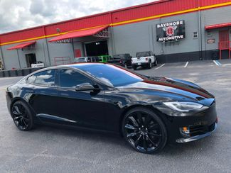 2018 Tesla Model S BLACKOUT AWD 75D 22 BLACK TURBINES GLASS   Florida  Bayshore Automotive   in , Florida