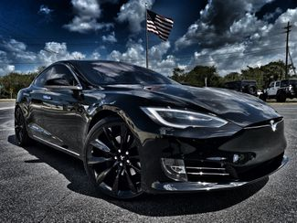 2018 Tesla Model S RED LEATHER CUSTOM PANO ROOF 22 TURBINES   Florida  Bayshore Automotive   in , Florida
