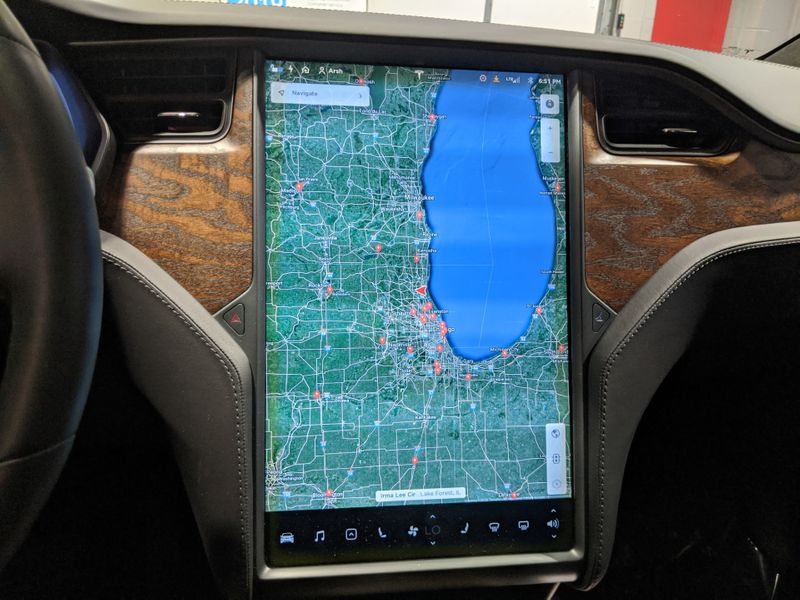2018 Tesla Model X 100D  Lake Forest IL  Executive Motor Carz  in Lake Forest, IL