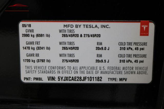 2018 Tesla Model X 75D Merrillville, Indiana 48