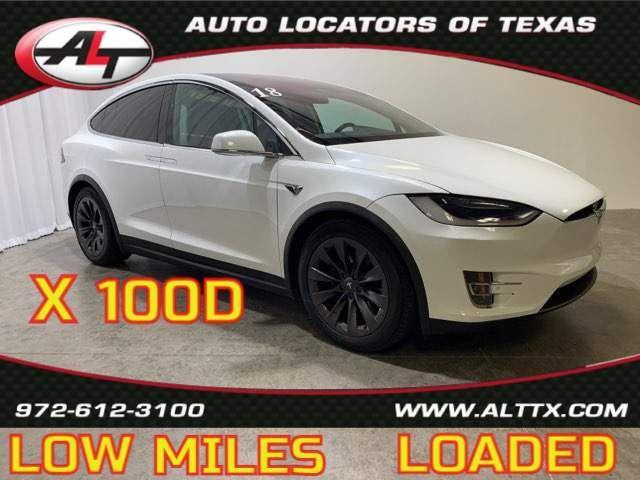 2018 Tesla Model X 100D in Plano, TX 75093