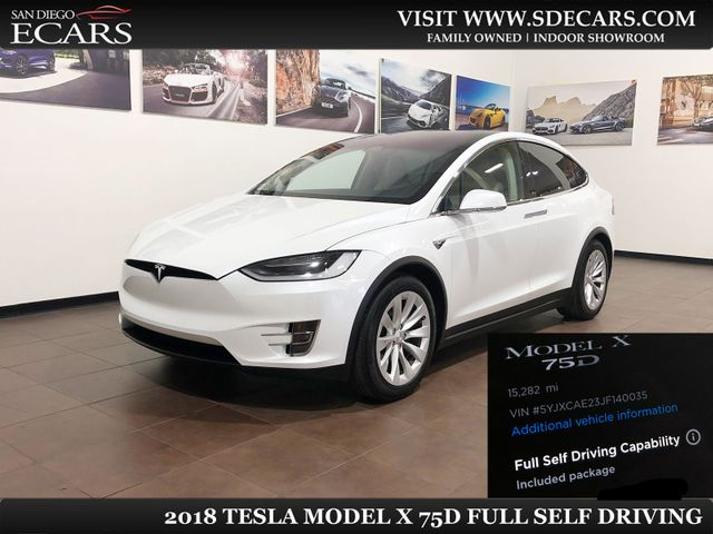 2018 Tesla Model X 75D in San Diego, CA 92126