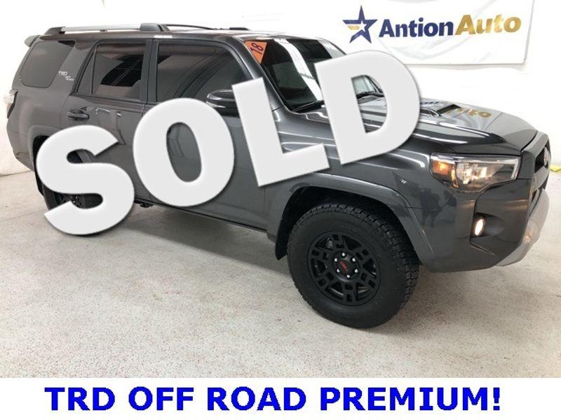 2018 Toyota 4Runner TRD Off Road Premium | Bountiful, UT | Antion Auto in Bountiful UT