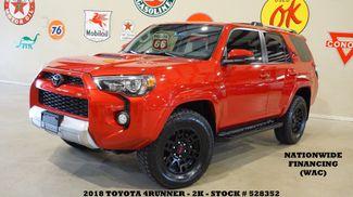 2018 Toyota 4Runner TRD Off Road 4WD ROOF,NAV,HTD LTH,BLK WHLS,2K in Carrollton TX, 75006