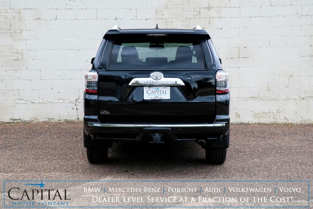 2018 Toyota 4Runner Limited 4x4 Luxury SUV w/Nav, Backup Cam, Heated/Cooled Seats, Moonroof, JBL Audio & Tow Pkg in Eau Claire, Wisconsin 54703