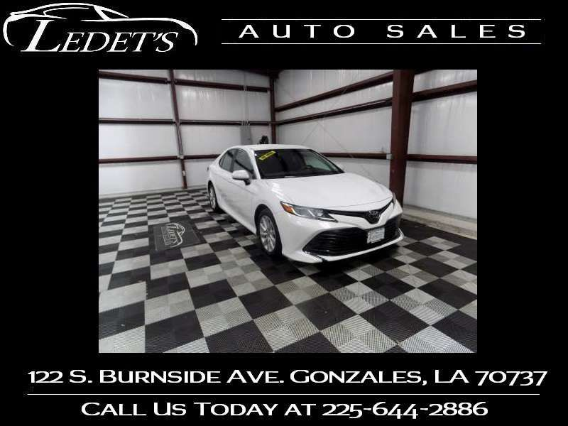 2018 Toyota Camry LE - Ledet's Auto Sales Gonzales_state_zip in Gonzales Louisiana