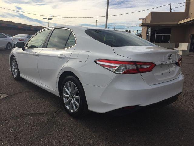 2018 Toyota Camry LE FULL MANUFACTURER WARRANTY Mesa, Arizona 2