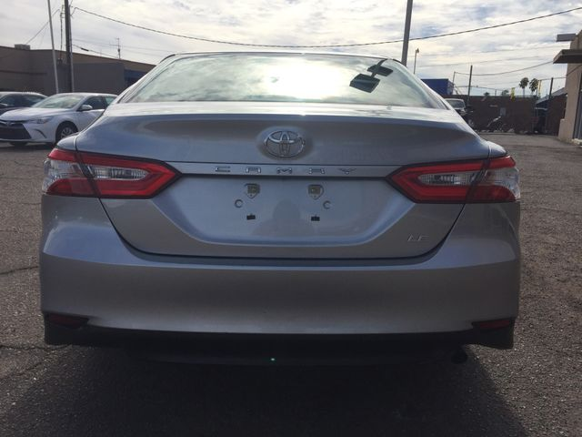 2018 Toyota Camry LE FULL MANUFACTURER WARRANTY Mesa, Arizona 3
