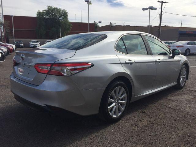 2018 Toyota Camry LE FULL MANUFACTURER WARRANTY Mesa, Arizona 4