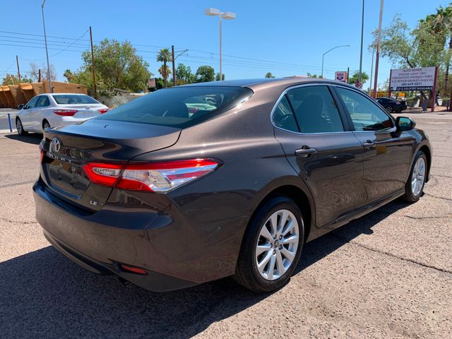 2018 Toyota Camry LE FULL MANUFACTURER WARRANTY Mesa, Arizona 4
