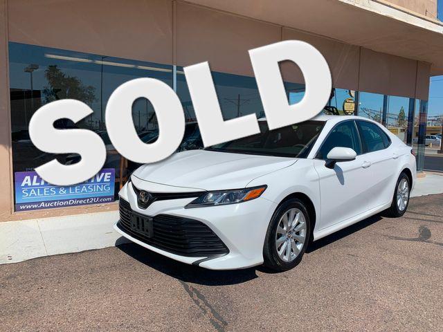 2018 Toyota Camry LE 5 YEAR/60,000 MILE FACTORY POWERTRAIN WARRANTY Mesa, Arizona
