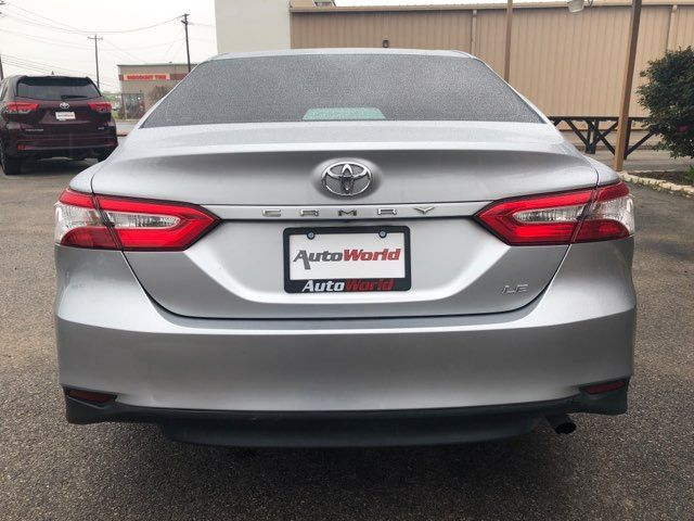 2018 Toyota Camry LE in Marble Falls, TX 78654