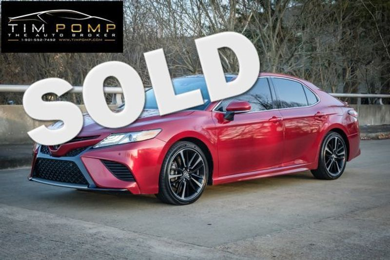 2018 Toyota Camry XSE V6   Memphis, Tennessee   Tim Pomp - The Auto Broker in Memphis Tennessee