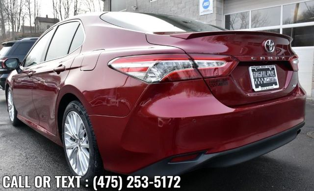 2018 Toyota Camry XLE Waterbury, Connecticut 3