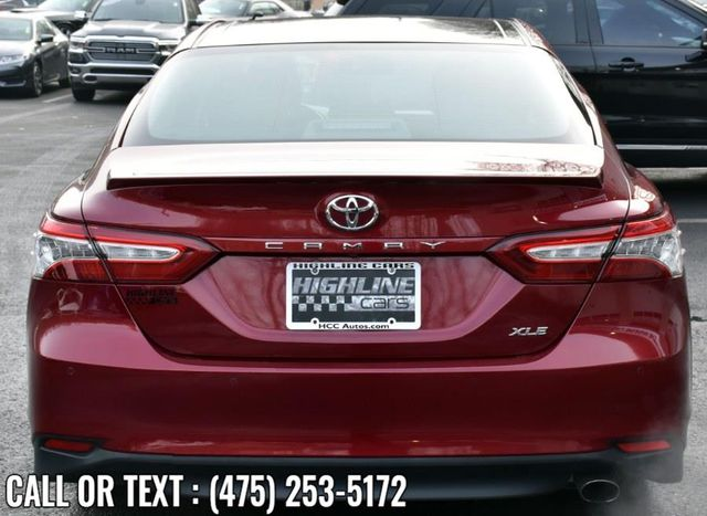 2018 Toyota Camry XLE Waterbury, Connecticut 4