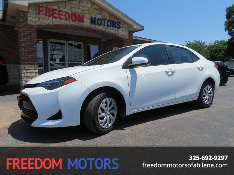 2018 Toyota Corolla LE | Abilene, Texas | Freedom Motors  in Abilene Texas