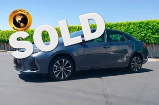 2018 Toyota Corolla in cathedral city, California
