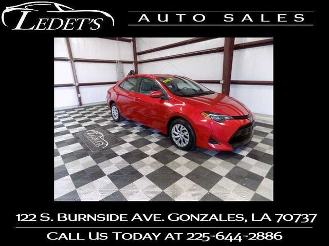 2018 Toyota Corolla LE - Ledet's Auto Sales Gonzales_state_zip in Gonzales