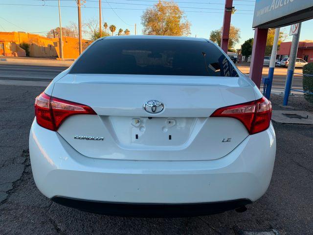 2018 Toyota Corolla LE FULL MANUFACTURER WARRANTY Mesa, Arizona 3