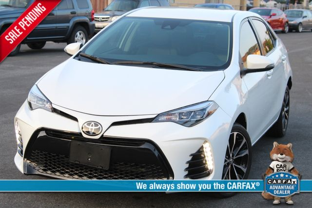 2018 Toyota COROLLA XLE LOADED 8K MLS SERVICE RECORDS