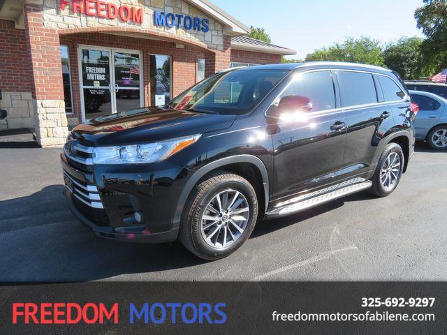 2018 Toyota Highlander XLE | Abilene, Texas | Freedom Motors  in Abilene,Tx Texas