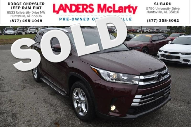 2018 Toyota Highlander Limited | Huntsville, Alabama | Landers Mclarty DCJ & Subaru in Huntsville Alabama