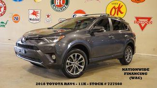 2018 Toyota RAV4 Limited SUNROOF,NAV,HTD LTH,11K,WE FINANCE in Carrollton, TX 75006