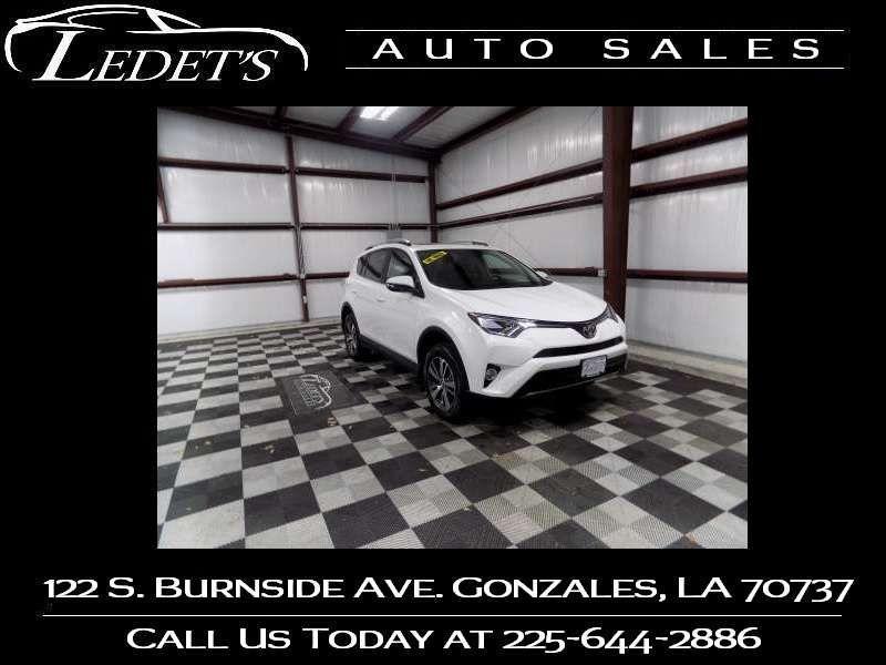 2018 Toyota RAV4 XLE - Ledet's Auto Sales Gonzales_state_zip in Gonzales Louisiana