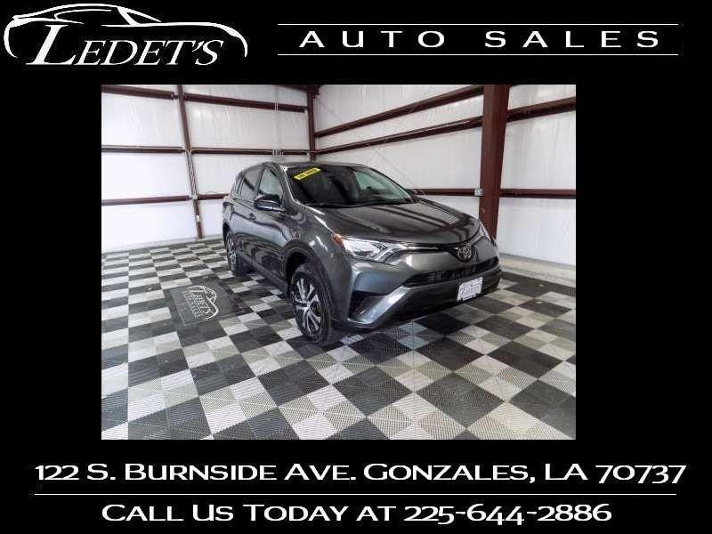 2018 Toyota RAV4 LE - Ledet's Auto Sales Gonzales_state_zip in Gonzales Louisiana