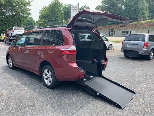 2018 Toyota Sienna LE Handicap wheelchair accessible rear entry Dallas, Georgia 2