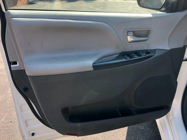 2018 Toyota Sienna LE Handicap wheelchair accessible rear entry Dallas, Georgia 11