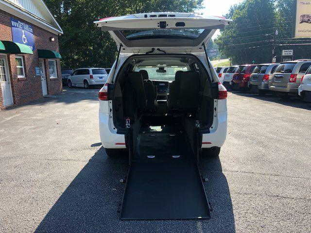 2018 Toyota Sienna LE Handicap wheelchair accessible rear entry Dallas, Georgia 5