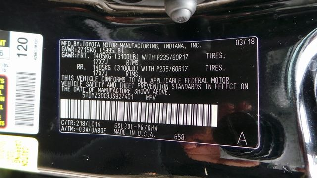 2018 Toyota Sienna XLE Madison, NC 48