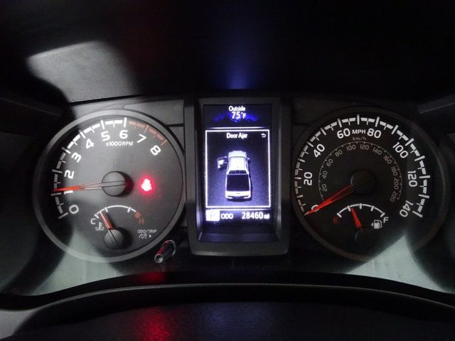 2018 Toyota Tacoma SR Custom wheels and tires in McKinney, Texas 75070