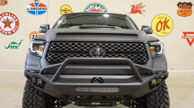 2018 Toyota Tundra CrewMax 4X4 CUSTOM,LIFTED,LED'S,NAV,HTD LTH,JL SYS