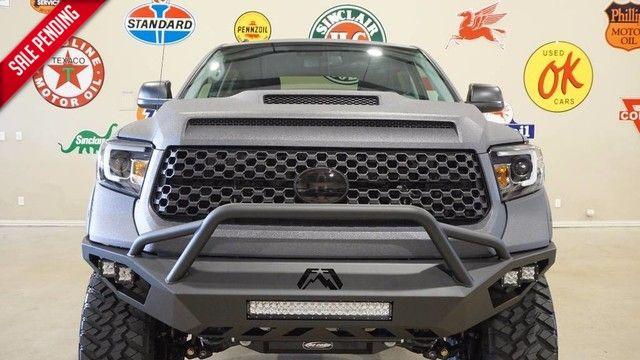 2018 Toyota Tundra CrewMax 4X4,DUPONT KEVLAR,LIFTED,NAV,LTH,JL SYS in Carrollton TX, 75006